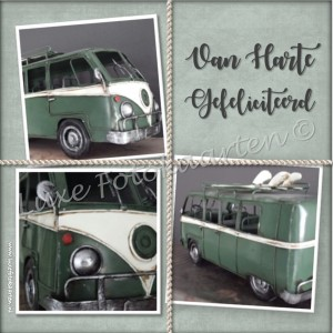 Gefeliciteerd Heren - VW bus