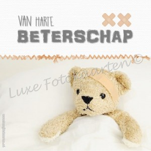 Beterschap kind - beer in bed