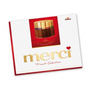 MERCIKAART chocolade - assorti
