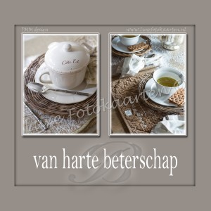 MERCIKAART Beterschap - Thee