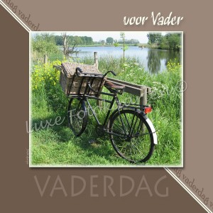 Merci Vader - Oude fiets
